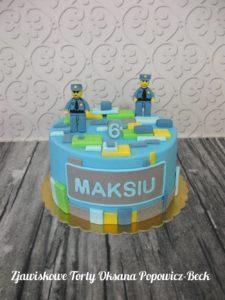 Tort Lego dla chłopca
