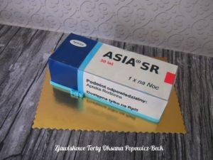 Tort 3d pudełko leków