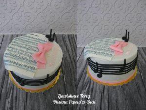Tort urodzinowy dla muzyka
