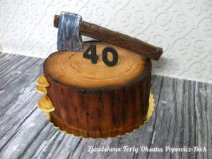 Tort drwalski na czterdziestkę