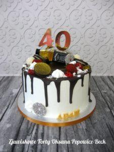 Drip cake mini Jack Daniel's