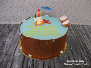 Tort na czterdziestkę