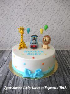 Tomek i przyjaciele, żyrafa, lew