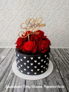 Tort na 10 rocznicę ślubu