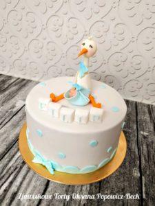 tort po urodzeniu dziecka